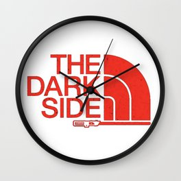 The Dark Side -The North Face Wall Clock