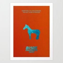 Blade Runner 2049 Minimalist Poster Art Print