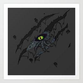 Dino Breakout Art Print