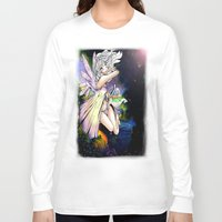 fairy Long Sleeve T-shirts featuring Fairy by JoySlash