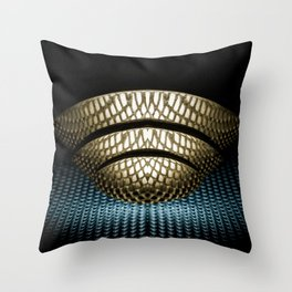 Macro cocina Throw Pillow