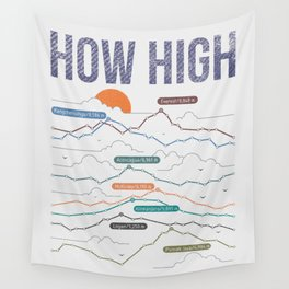 how high Wall Tapestry