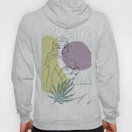 Woman 70s Design Line Art Minimalism #society6 Hoody