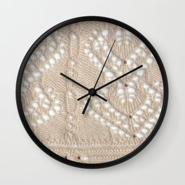 Ivory Spires 1 Wall Clock