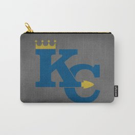 Kansas City Sports Blue Carry-All Pouch