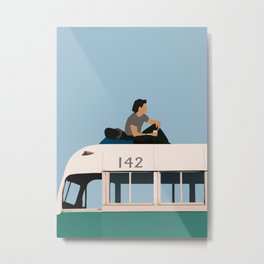Christopher McCandless Into the Wild Metal Print