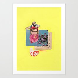 Poppy Girl  Art Print