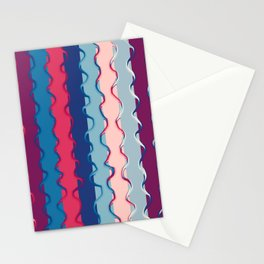 Stripes and lines Stationery Cards
