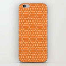 orange hex iPhone & iPod Skin
