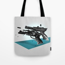 Exploded Toy Gun Tote Bag