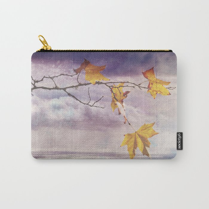 Faded Leaves - JUSTART © Carry-All Pouch