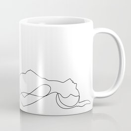 sleeping nudity Coffee Mug