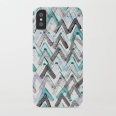 ZigZag Blue Slim Case iPhone X