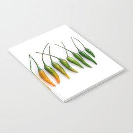 Hot Pepper Gradient Notebook