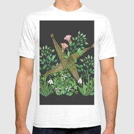 Saint Brigid's Cross in the Celtic Spring T-shirt
