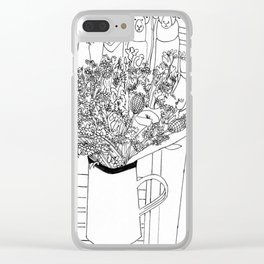 Muswell Hill II Clear iPhone Case