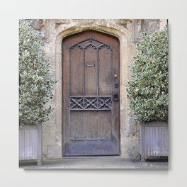 Doors Oxford 1 Metal Print