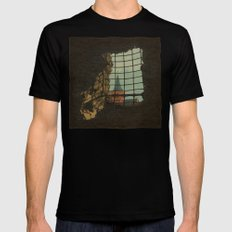 From A Castle MEDIUM Black Mens Fitted Tee