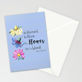 Be a Flower Stationery Cards