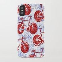bikes iPhone & iPod Cases featuring Bikes by StephanieTara