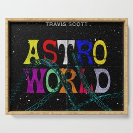 travis asTroworld Serving Tray