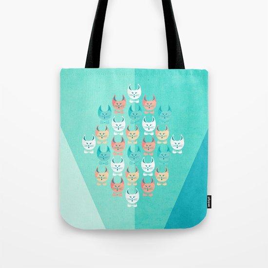 Singing Cats Tote Bag