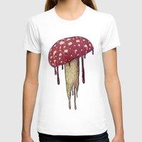 mushroom T-shirts featuring Mushroom by Lime