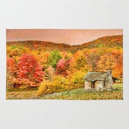 An Autumn View Rug