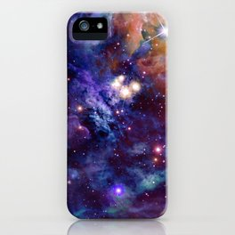 Bright nebula iPhone Case
