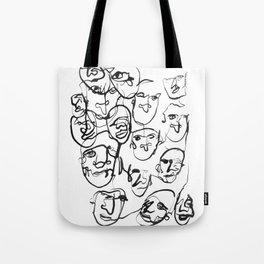 FACES / 000 Tote Bag