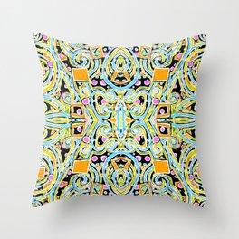 Roller Rink Throw Pillow