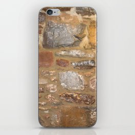 1890 Rock wall iPhone Skin