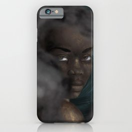 Just Me and My Demons iPhone Case