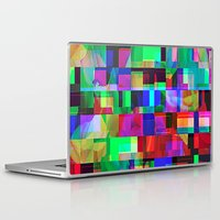 glitch Laptop & iPad Skins featuring GLITCH by C O R N E L L