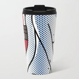 Lichtenstein - Blue Nude Travel Mug