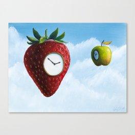 D (StrawberryClock's Dream) Canvas Print