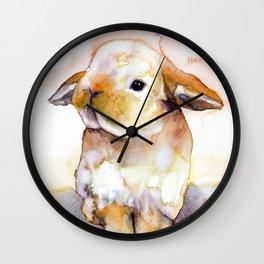 BUNNY#15 Wall Clock