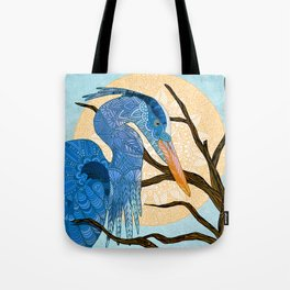 Egret Sun Tote Bag