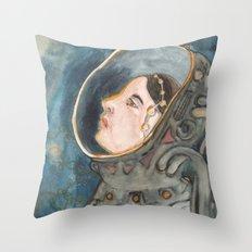 Space Magic Throw Pillow