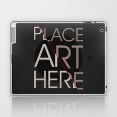 The Art Placeholder Laptop & iPad Skin
