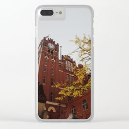 Brewery No. 2 Clear iPhone Case