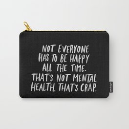 Mental Health Carry-All Pouch