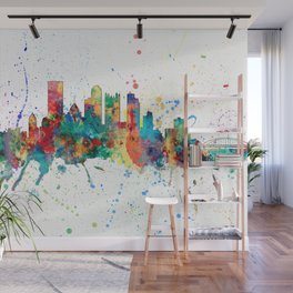 Pittsburgh Pennsylvania Skyline Wall Mural