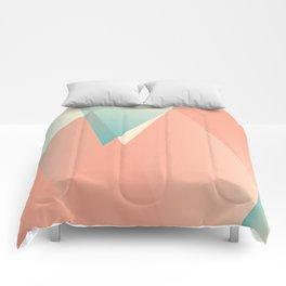 Pastel Peaks Comforters
