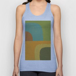 Abstract Geometry No. 14 Unisex Tank Top