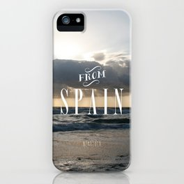 From Spain iPhone Case