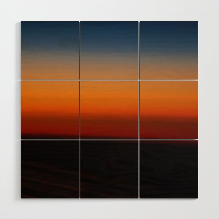 Sunrise Wood Wall Art