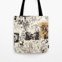 chaos Tote Bags featuring CHAOS by Petra Erika Nordlund