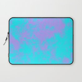 Cotton Candy Clouds - Purple & Blue Laptop Sleeve