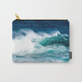 'The Wild Sea' Ocean Photography Carry-All Pouch